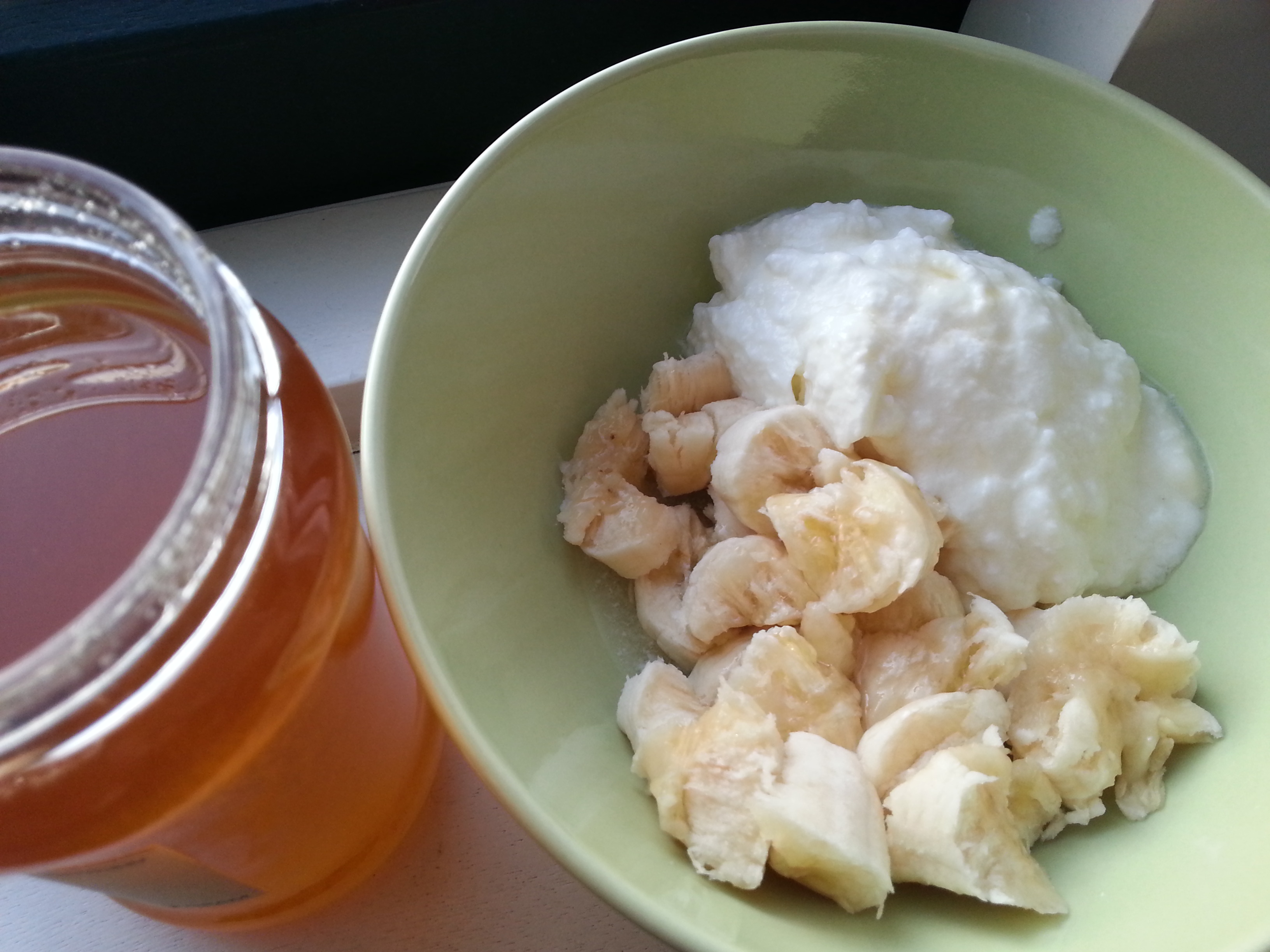 banana yoghurt honey breakfast (2)
