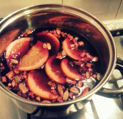 DIY Mulled Wine Gluhwein recipe Ana's Bananas Blog