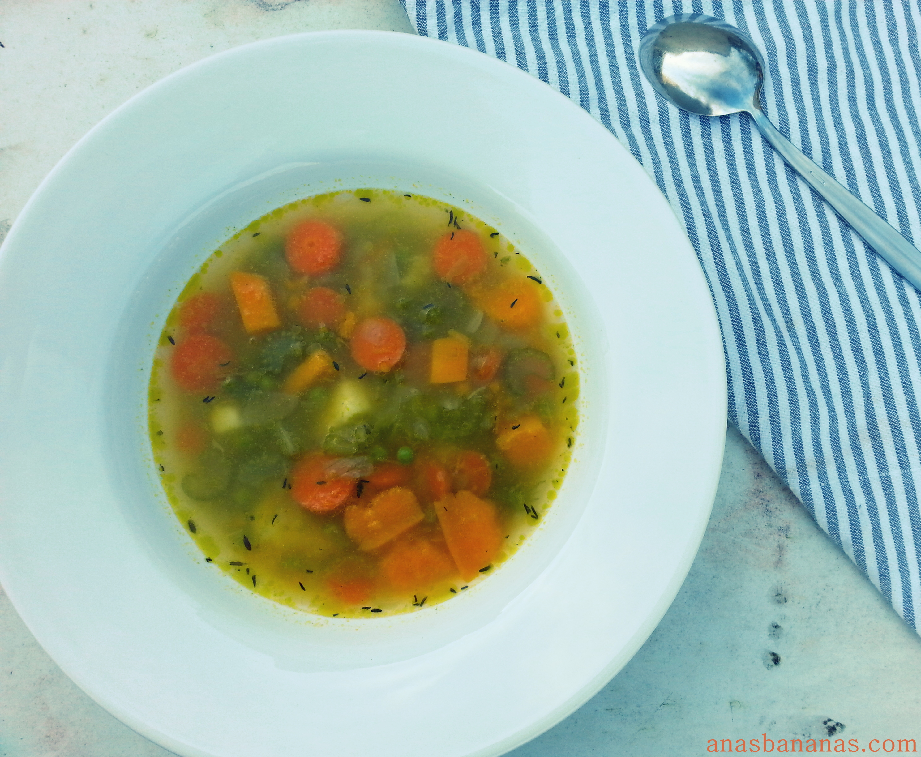 minestrone soup vegetable recipe healthy