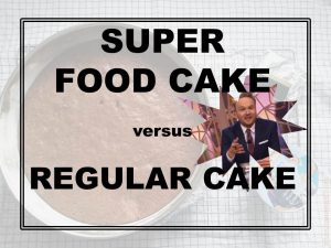 super food cake versus regular chocolate cake lubach ana banana blog food