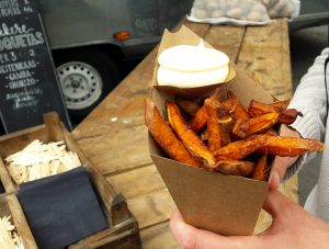 Sweet potato fries in Alkmaar