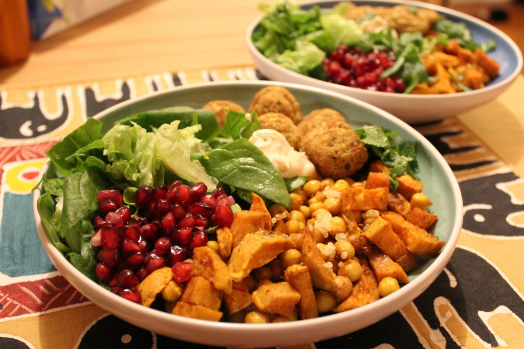 falafel bowl recipe