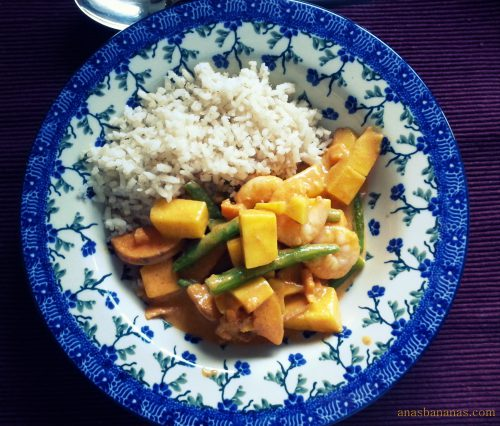 healthy red curry vegetable dairy free gluten free